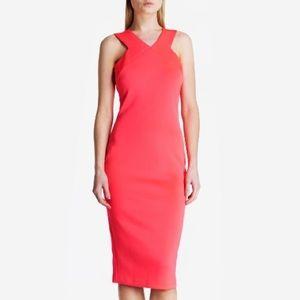 Ted Baker London Vadena Midi Sheath Dress